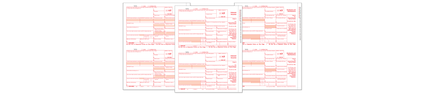 Forms Cs Preprinted 1099 Forms