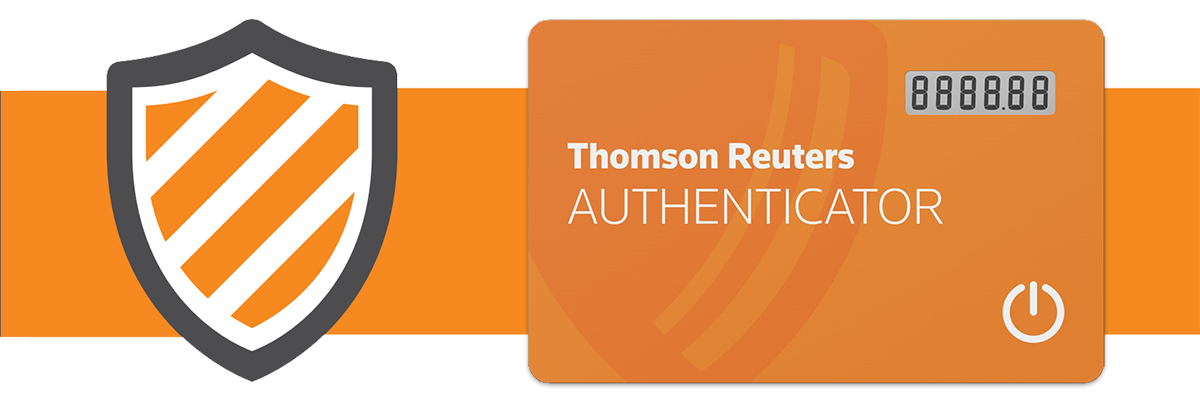 Thomson Reuter Authenticator Banner